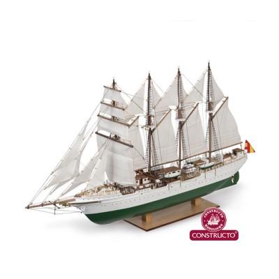 Maquette en bois Série Universal : J.S. Elcano - Constructo-80622