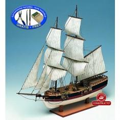 Maquette bateau en bois : Union