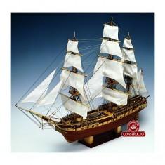 Maquette bateau en bois : USS Constitution