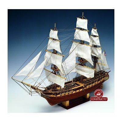 Maquette bateau en bois : USS Constitution - Constructo-80836