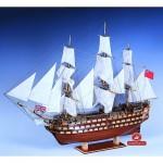 Maquette bateau en bois : Victory