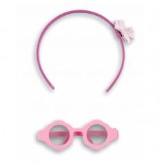 Accessoires pour poupée Chéries : lunettes et serre-tête