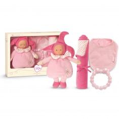 Babi Corolle : Coffret naissance Lutin rose