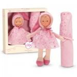 Babi Corolle : Coffret poupée Miss Rose Etoile et couverture