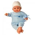 Bébé Suce Pouce Bleu à rayures
