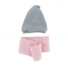 Bonnet et écharpe pour Poupée 36 cm Ma Corolle