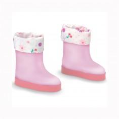 Chaussure Les chéries : Bottes roses