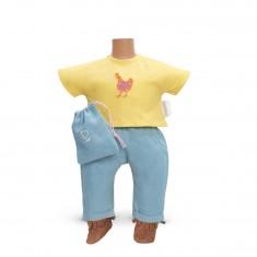 Ensemble bébé 30 cm : Ensemble pantalon côté soleil