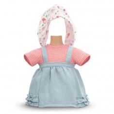 Ensemble bébé 36 cm : Ensemble robe côté soleil
