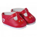 Ensemble bébé 36 cm : Chaussures rouges