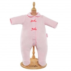 Ensemble bébé 42 cm : Pyjama rose