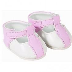 Ensemble bébé 42 cm : Chaussures roses