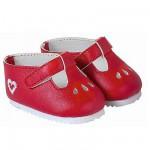 Ensemble bébé 42 cm : Chaussures rouges