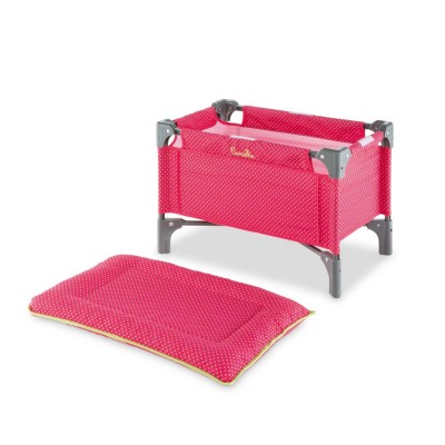 lit et table langer cerise pour poupon corolle de 36 42 cm corolle le lutin rouge. Black Bedroom Furniture Sets. Home Design Ideas