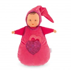 Poupée Babi Corolle : Doudou Babibulette Coeur de grenadine