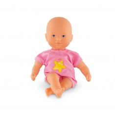 Poupon Mini Bain : Maillot rose avec étoile