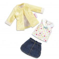 Vêtement pour Chéries : Ensemble jupe riviera