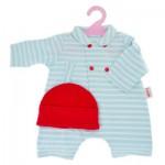 Vêtement pour Classique Corolle 42 cm : Pyjama avec bonnet