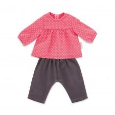 Vêtement pour Mon classique Corolle 36 cm :  Blouse Framboise et Jean