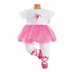 Vêtement pour Mon Classique Corolle 36 cm : Combinaison ballerine Fuchsia