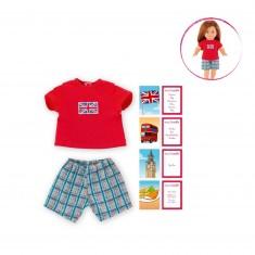Vêtement pour poupée 36 cm Ma Corolle : Pyjama Royaume-Uni