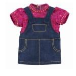 Vêtement pour poupée 36 cm Ma Corolle : Robe jean grenadine