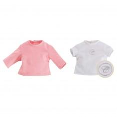 Vêtement pour poupon 36 cm Ma Corolle : Ensemble de T-shirts