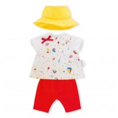 Vêtements pour Mon Classique Corolle 36 cm : Ensemble legging Croisière