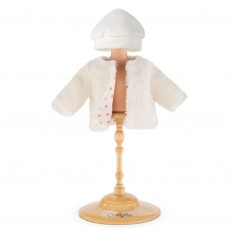 Vêtements pour Mon Classique Corolle 36 cm : Manteau trésor des neiges