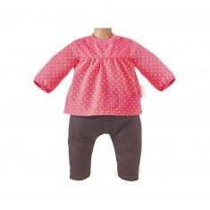 Vêtements pour Mon Classique Corolle 42 cm : Blouse Framboise et Jean