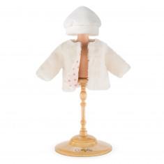 Vêtements pour Mon Premier Corolle 30 cm : Manteau trésor des neiges