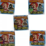 Stickers par 5 : Lupin III