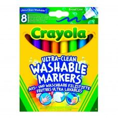 8 feutres à colorier ultra lavables