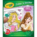 Album de coloriage : Album Color n'stickers Princesses Disney