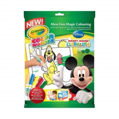 Album de coloriage : Album Color Wonder Mickey Mouse avec feutres