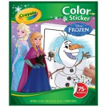 Coloriages + Stickers La Reine des Neiges