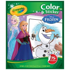 Coloriages + Stickers : La Reine des Neiges (Frozen)