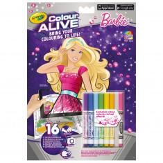 Coloriages Colour Alive : Barbie