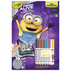 Coloriages Colour Alive : Les Minions