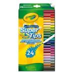 Crayons : 24 feutres à dessiner