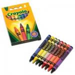 Crayons : 8 crayons doux à la cire