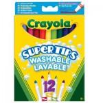 Crayons 12 feutres à dessiner lavables