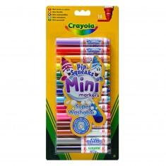 Crayons 14 mini feutres