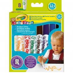 Crayons 8 feutres :  Mini kids