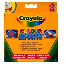 Crayons 8 feutres à colorier effaçables à sec