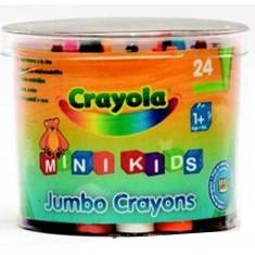 Crayons Boîte de 24 maxi crayons en cire
