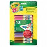 Crayons feutres magiques : 10 couleurs classiques Color Wonder