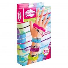 Kit créatif : Mes bracelets à messages