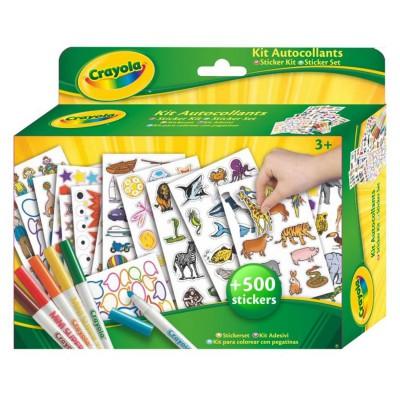 Kit d'activités Coloriage et autocollants - Crayola-545000