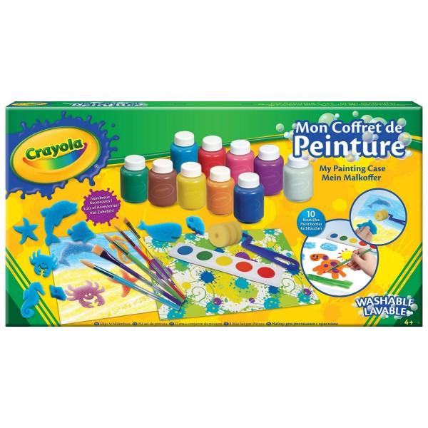 Mon coffret de peinture lavable jeux et jouets crayola for Peinture lavable